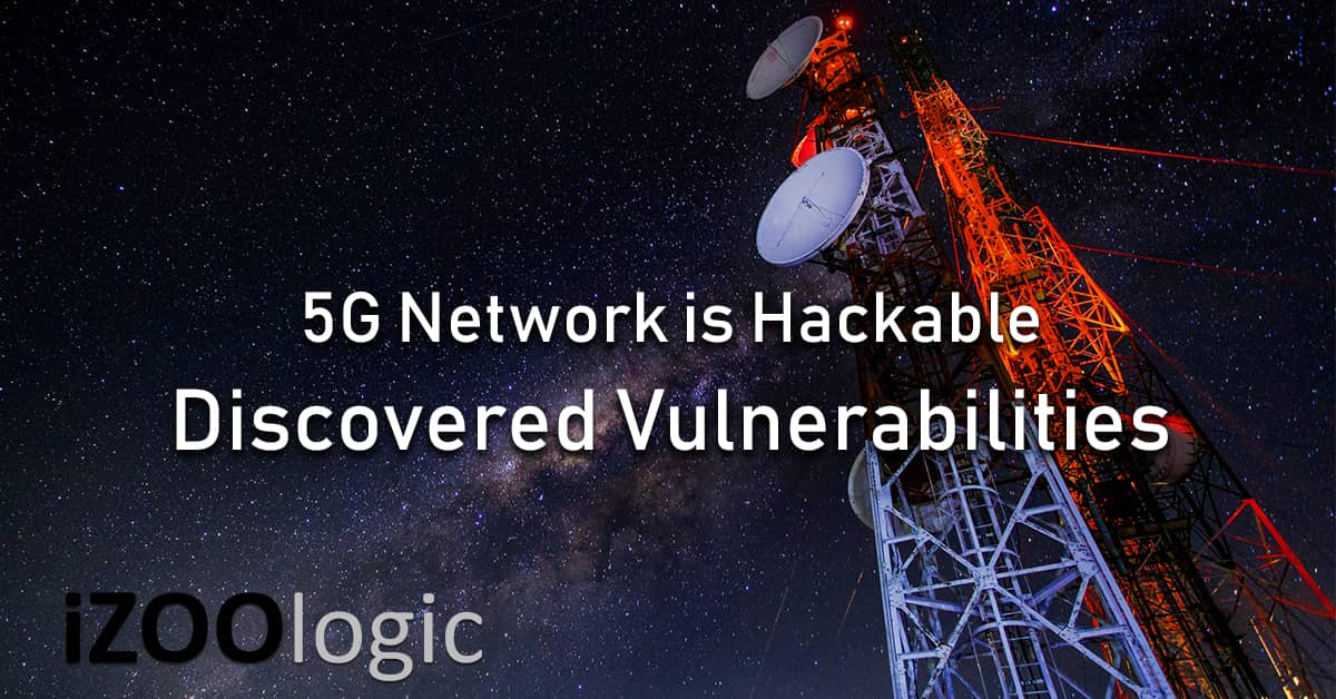 5G Network discovered vulnerability DOS MITM User Location Data Leak