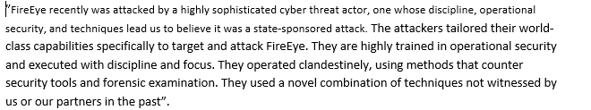 FireEye hacked breached Cozy Bear APT29 Group