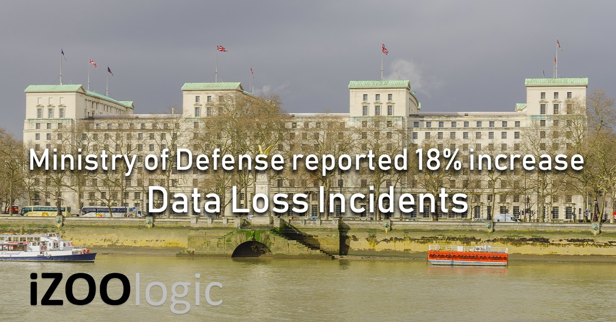 ministry of defence personal data loss incidents human error