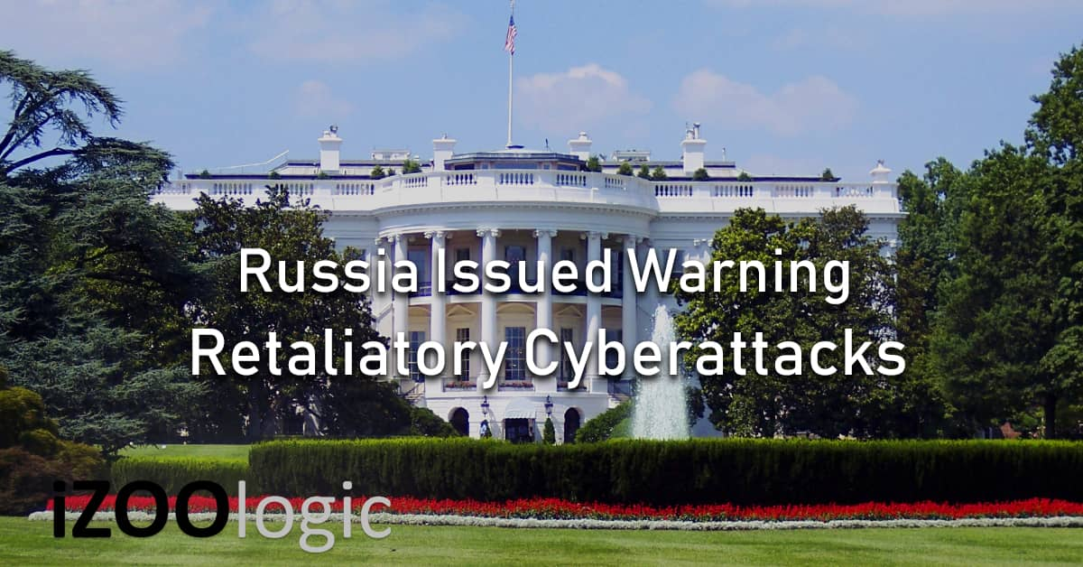russian russia government warns US retaliatory cyberattacks