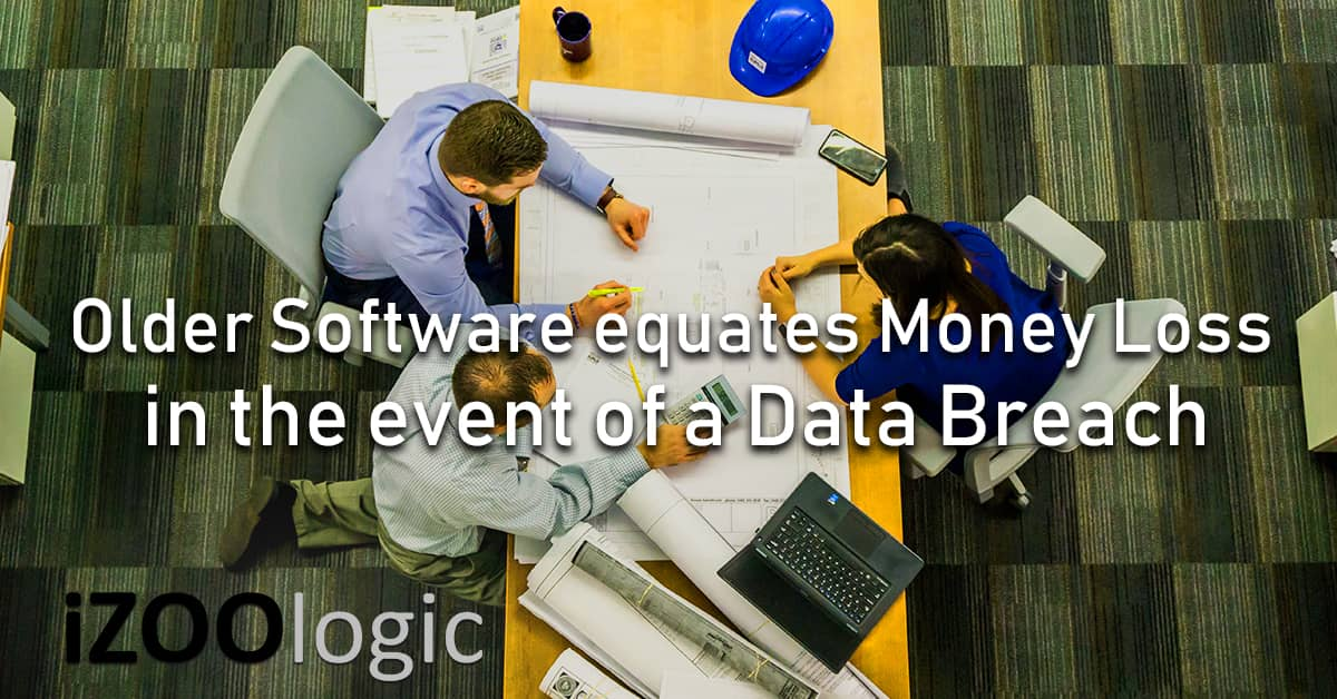 event of Data Breach Older Software Money Loss Enterprises Company