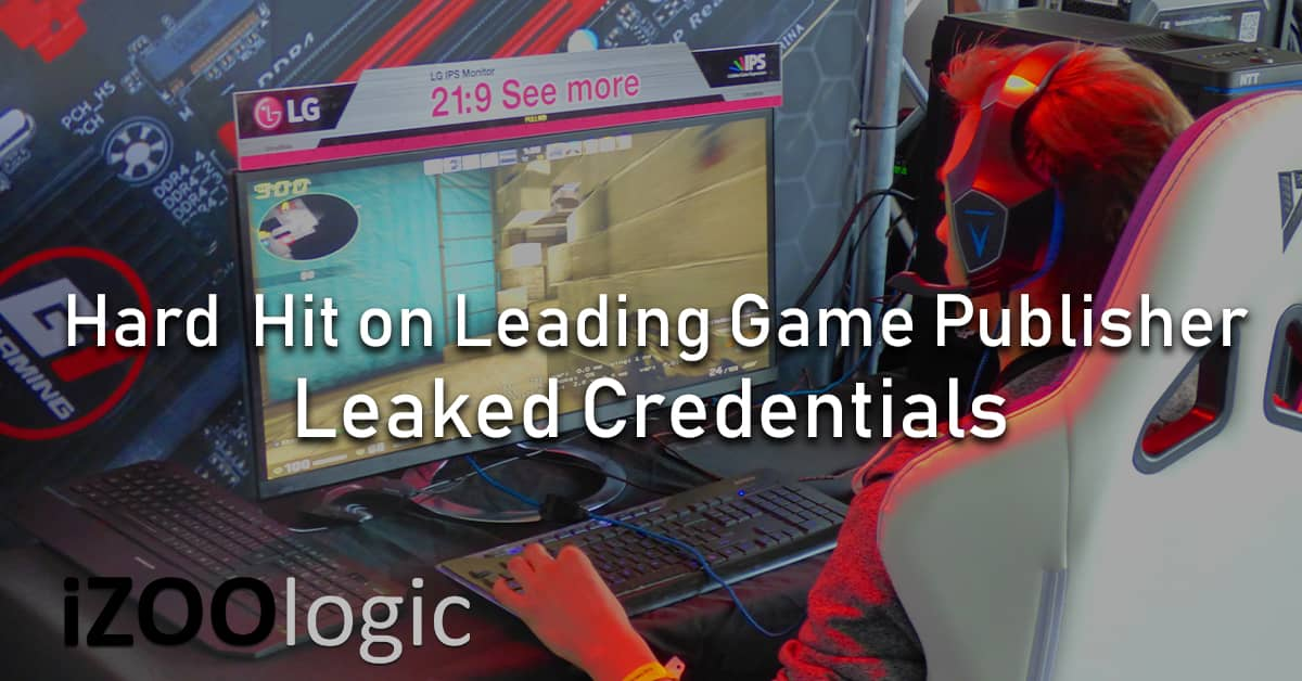 hard hit leading game publisher Ubisoft leaked credentials malware