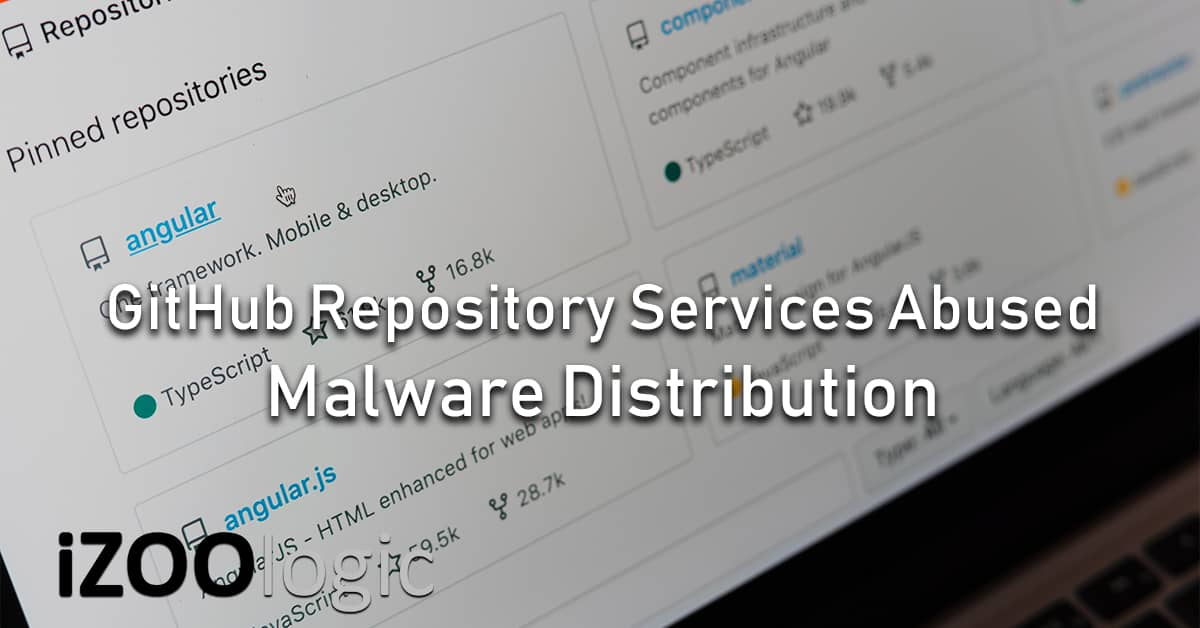 github repository service malware abuse cybercrime threat actor attack vector