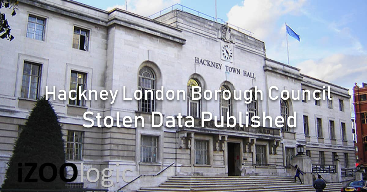 hackney council UK London Compromised Data Stolen Data Published Pysa
