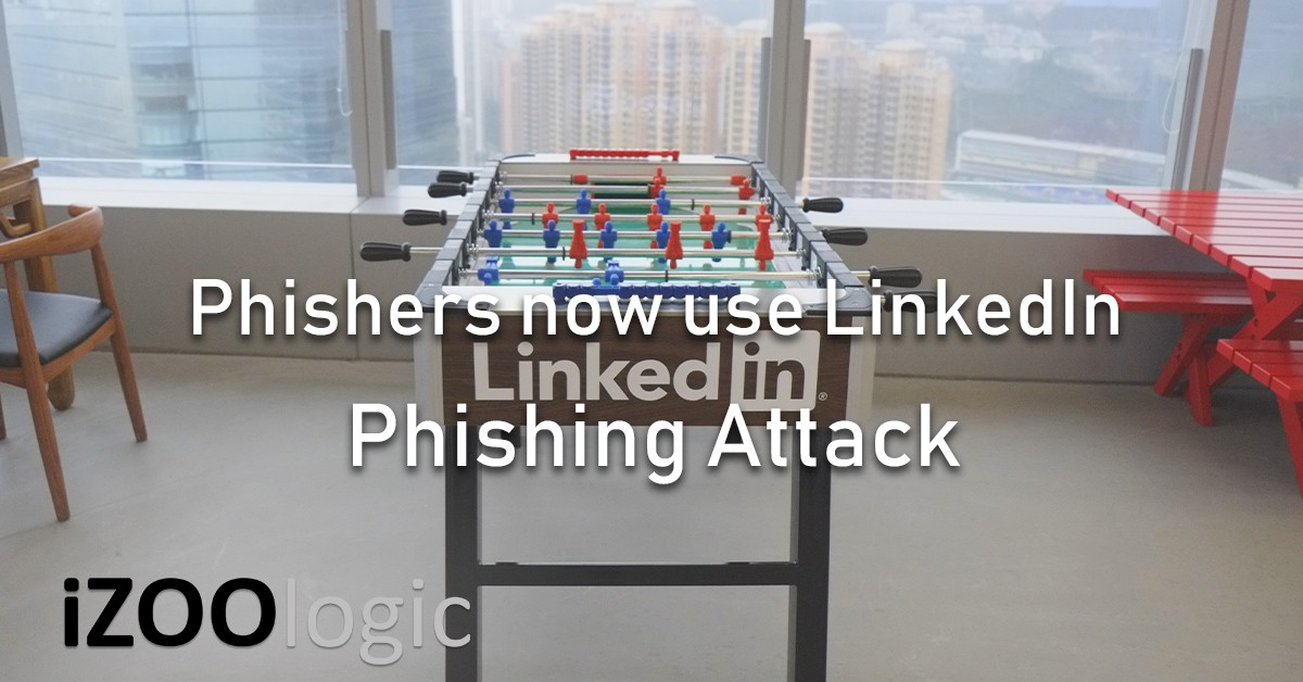 phishers linkedin phishing attack social media fake login page