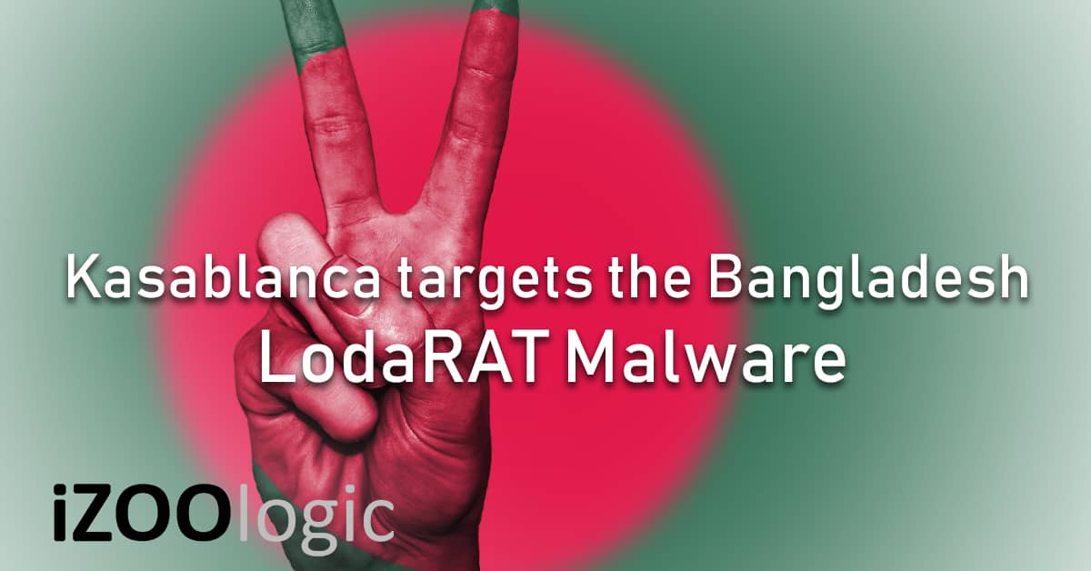 Kasablanca Bangladesh Bank Government LodaRAT malware trojan