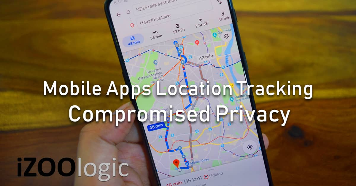 mobile apps location tracking personal privacy compromised data