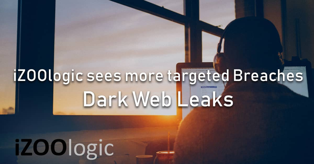 izoologic dark web leaks data breach india UK africa Europe