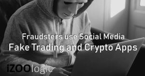 fraudsters scammers social media fake trading crypocurrency mobile apps