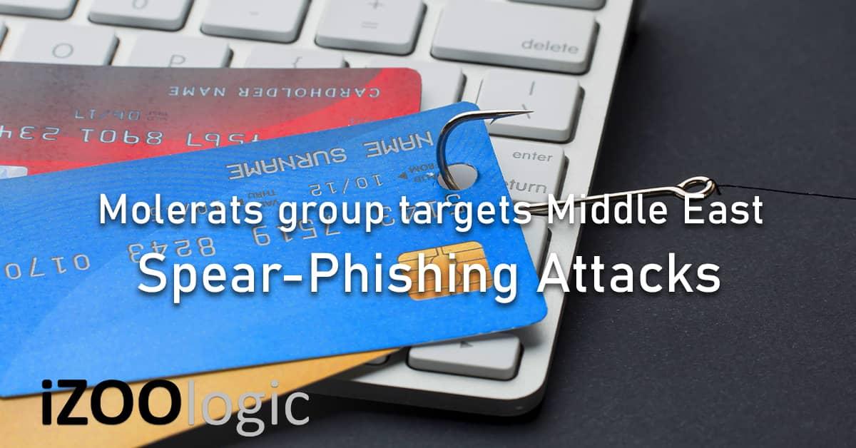 Molerats Middle East government spear phishing attacks