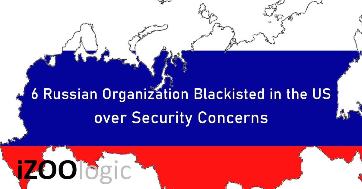 russia organizations security concern commerce department sanction