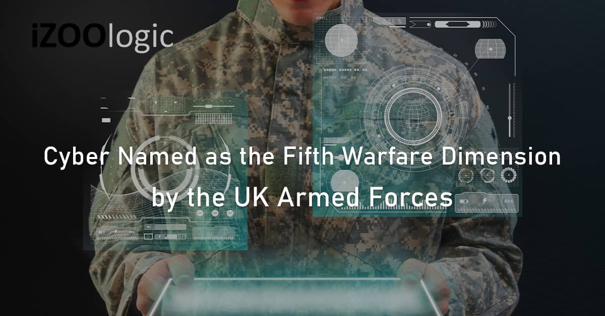 Cyber fifth warfare dimension UK armed forces