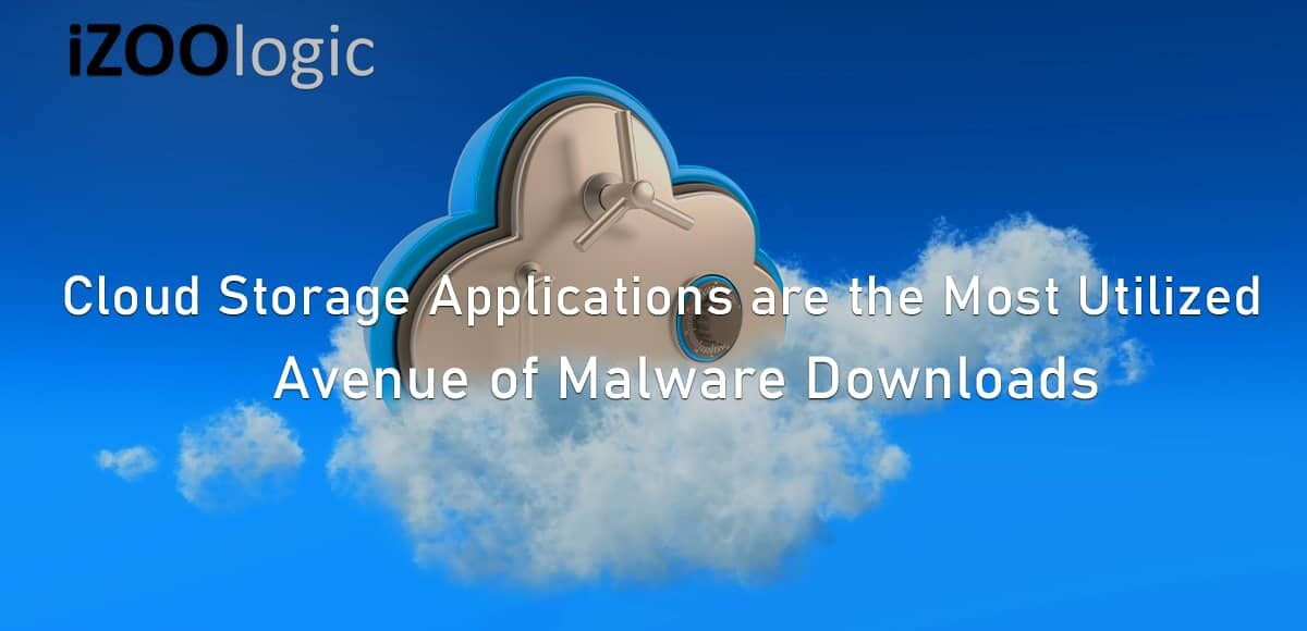 Cloud storage applications malware downloads ransomware